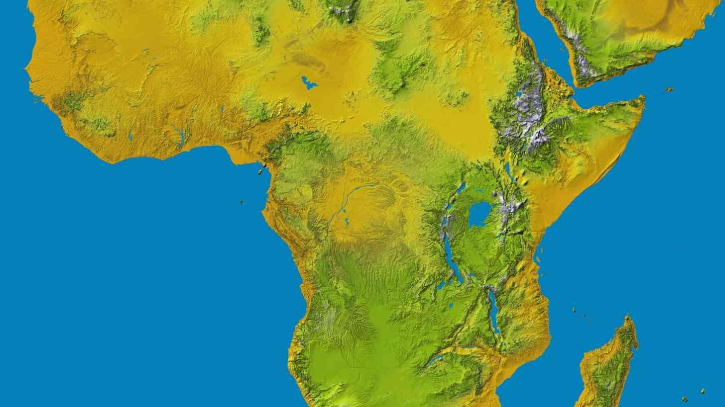 Arbeidsreiser til Afrika