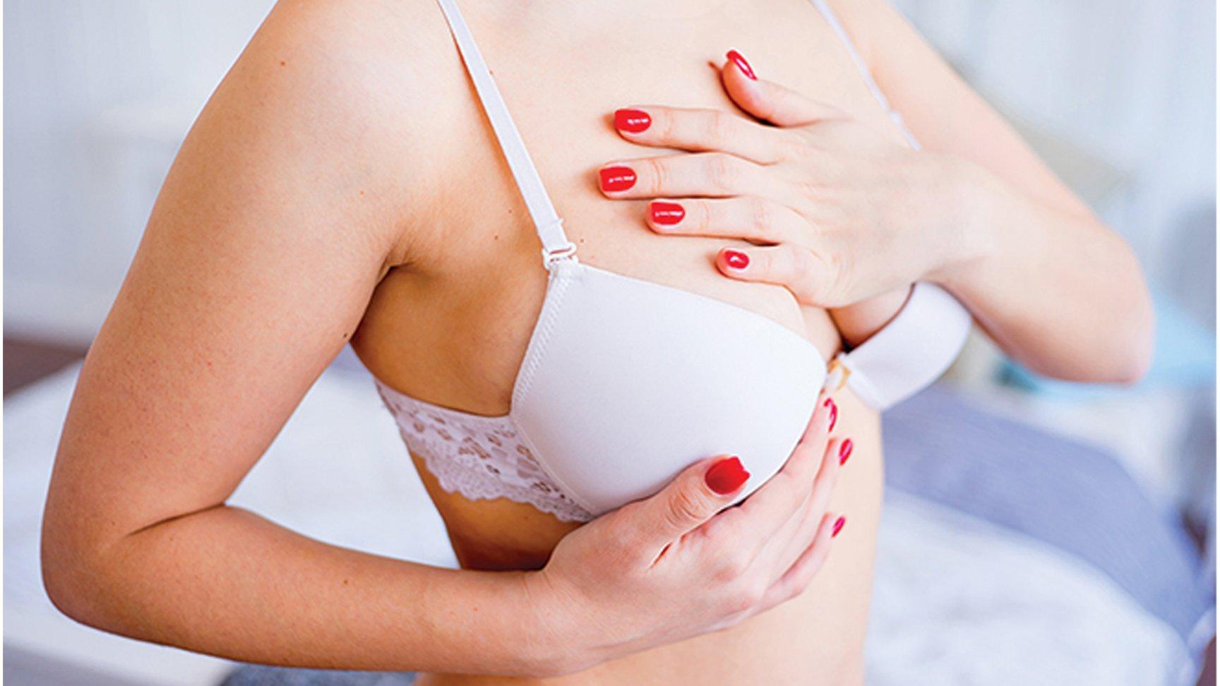 Brystreduksjon er den eneste kosmetiske operasjonen